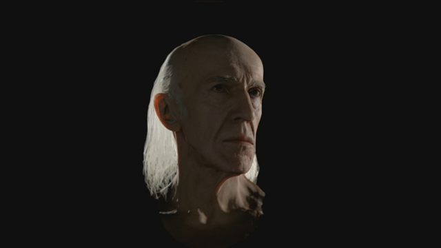 Grafikdemo von David Cage, nein das ist er nicht selbst.