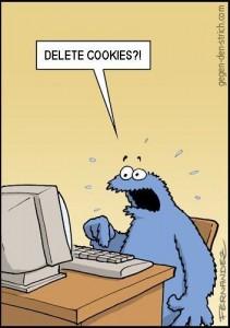 Krümelmonster und die Cookies - von Fernandez