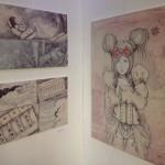 Einige Impressionen aus der angeschlossenen Ausstellung