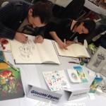 Bei Dani Books gab es Signiermöglichkeiten bei Giovanni Rigano und Paolo Antista