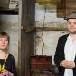 Haben viele Projekte und neue Ideen präsentiert, Verena Klinke und Felix Mertikat