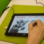 Entsteht hier die digitale Zukunft des Comics? Max Vähling probiert es aus.