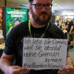 Beetlebum hat sich sofort hinter #NoBorders4Comics gestellt!