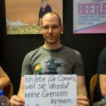 Bastian Baier steht zu #NoBorders4Comics