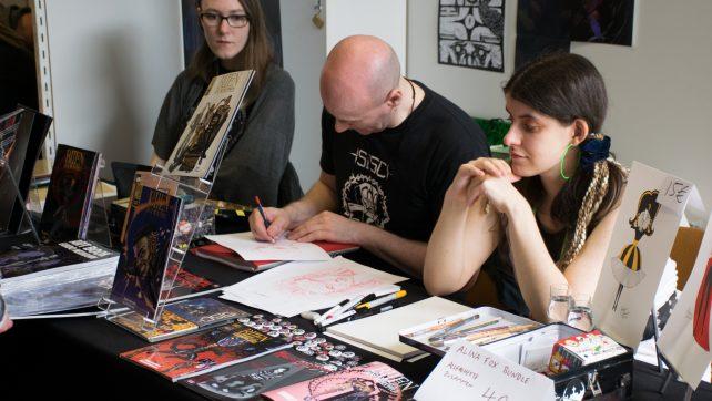 Comicsalon Erlangen 2/5 So viele Gesichter… und von Sinnen fassungslos