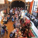 Überblick über die Verlagsmesse im Künstlerhaus
