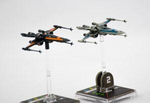 Zwar kommt bald auch ein vorbemalter schwarzer X-Wing, aber wer darauf nicht warten will...