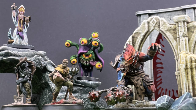 Roleplaying Miniatures – Paint all the Patreons
